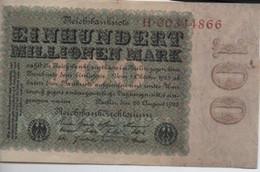 100  Mark   22 - 9 - 1923 - 100 Mark