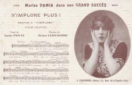 Marise Damia Dans Son Grand Succès - N' Implore Plus ! - Chanteurs & Musiciens