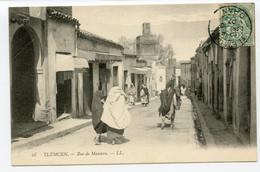 4/ CPA TLEMCEN  28 Rue De Mascara   LL - Tlemcen