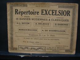 Musique. 4. Ancien Répertoire Excelsior. 16 Danses Modernes Et Classiques. Ytombones Ou Tuba - Musica Popolare