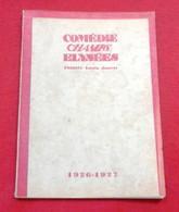 Comédie Des Champs Elysées Théâtre Louis Jouvet 1926 Catalogue Exposition Arts Déco Peinture Basch Korda Kohl... - Programmi