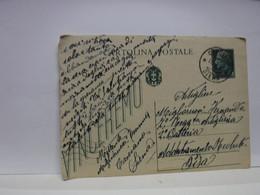 SIENA  E PROV. --ANNULLO  TONDO --RIQUADRATO -FRAZIONALE --- CASCIANO  --16-4-43 - Marcofilía