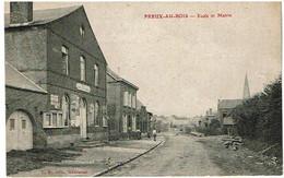 Preux Au Bois Ecole Et Mairie- Ed L.S Voyagee 1908 - Other Municipalities