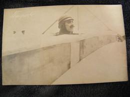 CPA - Carte Photo.- L'Aviateur Algérien Edouard Nieuport (1875.1911) - 1910 - SUP -  (DZ 60) - Aviatori