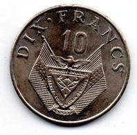 Rwanda  - 10 Francs 1974 --   état  SUP - Rwanda