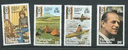 Falkland - Yvert N° 327 à 330 ** 4 Valeurs Neuves Sans Charnière  - Lr 31801 - Falklandinseln