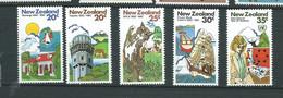 Nouvelle Zelande  Série     - Yvert N° 805  à  809  ** 5 Valeurs Neuves Sans Charnière  - Lr 31812 - Unused Stamps