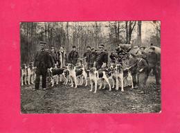 78 Yvelines, DAMPIERRE, CHASSE à COURRE, 1929, Animée, Chiens, Chevaux, (E. Malcuit) - Dampierre En Yvelines