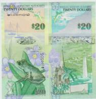 Bermudas 20 Dollars 2009 Pick 60a UNC - Bermudas