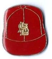 BASEBALL - B20 - CASQUETTE  STL - SAINT LOUIS - Verso : SM - Baseball