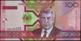 ♛ TURKMENISTAN - 100 Manat 2005 {Türkmenistanyň Merkezi Banky} UNC P.18 - Turkmenistan