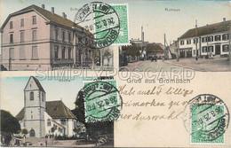 OLD POSTCARD - GERMANIA - GRUSS AUS BROMBACH - VEDUTINE - VIAGGIATA 1925 - D44 - To Identify