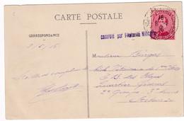 DDX998 - Carte-Vue TP Albert STE ADRESSE 1916 Vers Vétérinaire Armée Française - Censure De La Zone Des Armées - Other Zones