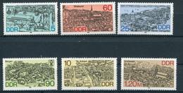 DDR 1988 - Mi. 3161 - 3166 ** - Nuevos