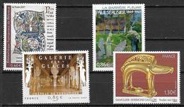 France 2007 N° 4013, 4060, 4105 Et 4119 Neufs Série Artistique à La Faciale - Ungebraucht