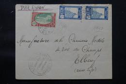 NIGER - Enveloppe De Dosso Pour La France En 1940 Avec Cachet De Contrôle Postal - L 76261 - Lettres & Documents