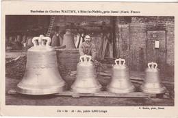 SIN LE NOBLE  FONDERIES DE CLOCHES WAUTHY - Sin Le Noble