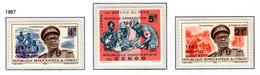 CONGO 652/654 MNH 1967 - Nieuwe Grondwet - Ungebraucht