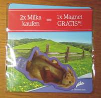 Pub Magnet Milka Benjamin Kaninchen Lapin 9 X 4 Cm Sous Blister - Magnets