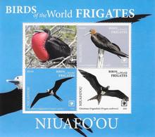 Niuafo'ou 2020, Frigates, 4val In Block - Tonga (1970-...)