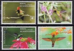 Niuafo'ou 2020, Hummingbirds, 4val - Tonga (1970-...)