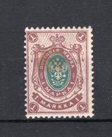 FINLAND Yt. 59 MH* 1901-1906 - Nuovi
