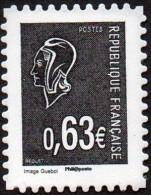 Autoadhésif(s) De France N°  919 ** La V ème République Au Fil Du Timbre - Marianne De Béquet - Ongebruikt