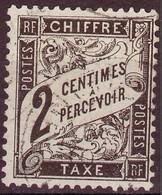 France - Tax - 1881 - Y&T 11 (°) - 1859-1955 Used