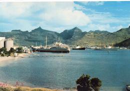 Port-Louis Belle Vue Du Port Bateaux Cargos Paquebot - Mauritius