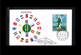 1966 - Europe CEPT FDC San Marino - Cancel U.F. [TM142] - 1966