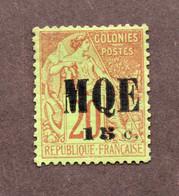 Martinique  N°2 N* TB Cote 140 Euros !!!RARE - Unused Stamps