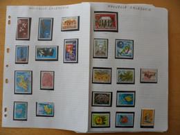 NOUVELLE CALEDONIE  Poste Et Poste Aérienne  1979 à 1994  Neufs Sans Charnière MNH Faciale 238 € Moins 40 % - Verzamelingen & Reeksen