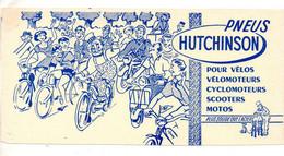 Buvard -Pneus Hutchinson - Voir Scan Pour état - Automotive
