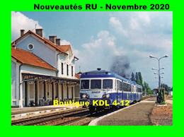 RU 1872 - Autorail X 2825 En Gare - CERCY LA TOUR - Nièvre - SNCF - Bahnhöfe Mit Zügen