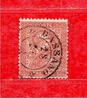 REGNO °- 1863  C. 2 , Sass. N° 15 .  Usato - Usati