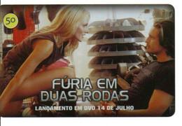 Femme Moto Motorbike Télécarte Phonecard Brésil (D 1036) - Moto