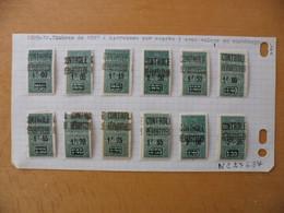 ALGERIE Colis Postaux  N°27 à 37 Série Complète  Neufs Avec Charnière   Voir Scan - Postpaketten