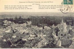 CPA - MONTFORT-L'AMAURY - PANORAMA, VUE PRISE DES TOURS  (Poême De V.Hugo) - Montfort L'Amaury