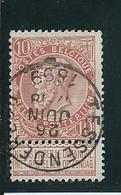 OCB 57 - Afstempeling TESSENDERLOO - COBA 8 - 1893-1900 Schmaler Bart