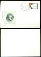 Nederland 1984 Briefkaart Rembrandt 50 Cent Ongebruikt Geuzendam 362 - Ganzsachen
