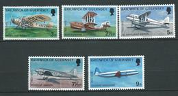 Guernesey Série Yvert N° 74  à 78  **  5 Valeurs Neuves Sans Charnière - Lr 32008 - Guernsey