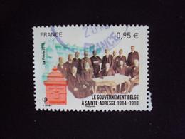 FRANCE TIMBRE 2015 -  N° 4934 - Le Gouvernement Belge à Sainte-Adresse (1914-1918) - Used Stamps