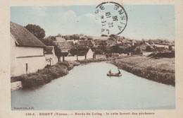 CARTE POSTALE   ROGNY 89  Bords Du Loing:le Coin Préféré Des Pêcheurs - Sonstige Gemeinden