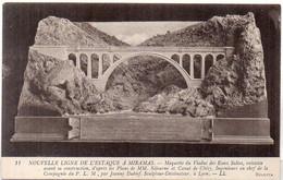 Nouvelle Ligne De L' Estaque à Miramas -  Maquette Du Viaduc Des Eaux Salées  (4767- ASO) - Ohne Zuordnung