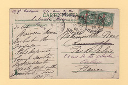 Type Blanc - Maroc - Tanger - 1908 - Lettres & Documents