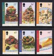 GB ISLE OF MAN IOM - 2001 EUROPA LOCAL FOOD DISHES SET (6V) FINE MNH ** SG 947-952 - Man (Insel)
