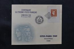 FRANCE - Enveloppe  FDC En 1949 - Citex - L 76342 - ....-1949