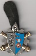 INSIGNE Du 9 ème BATAILLON Du MATERIEL  De L'ARMEE De TERRE De POITIERS (numéroté ) - Army