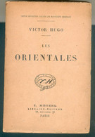 VICTOR HUGO LES ORIENTALES ED J. HETZEL PARIS TB - 1801-1900
