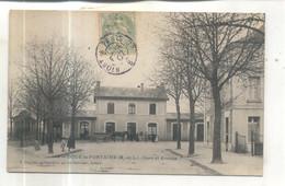 Doué La Fontaine, Gare Et Avenue - Doue La Fontaine